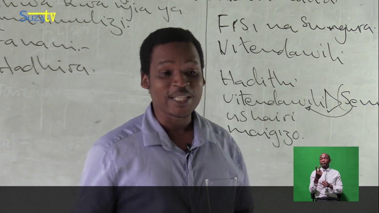Download KISWAHILI FORM 1 MADA -Fasihi Simulizi
