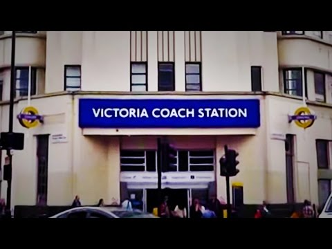 The UK Today - Walking From London Victoria Train Station To Victoria Coach Station..2016