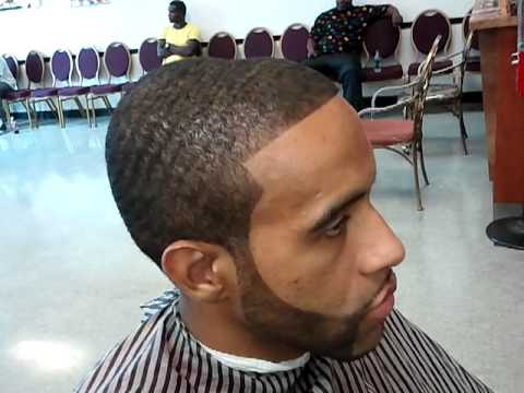 Dark Caesar Haircut Black Men Dark Caesar Haircut With Chin