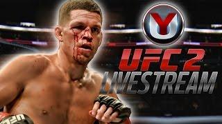 UFC 2 LIVESTREAM !!! Momma said knock you out! CAREER EPISODE 1