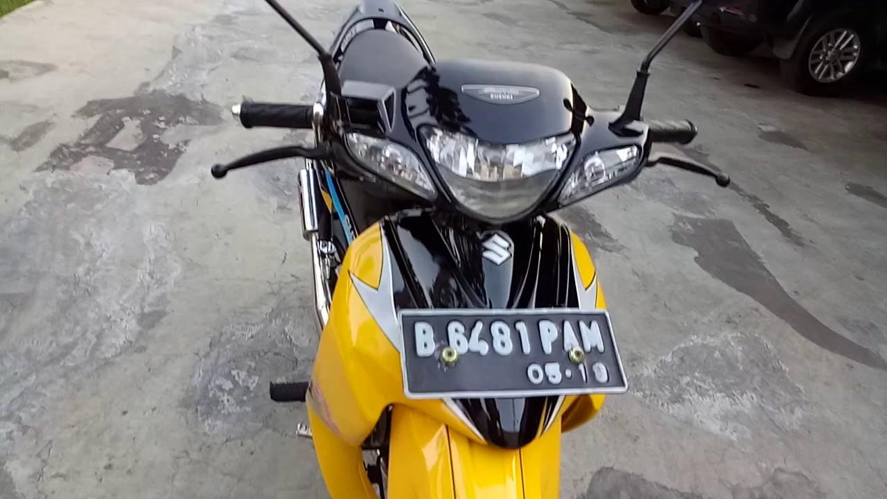 Satria Hiu 120r Lscm Kuning Hitamwarna Langka Youtube Motor 120 R