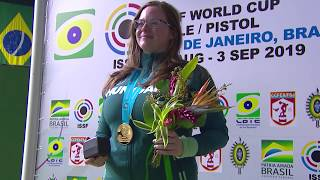Golden Target 2019 - Veronika MAJOR (HUN) - 25m Pistol Women