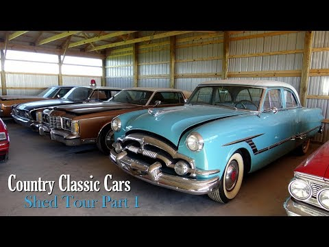 New Shed Tour At Country Classic Cars - Part One