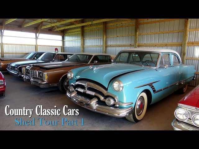 New Shed Tour At Country Classic Cars Part One