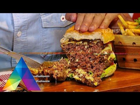 FOOD AND FASHION 21 JANUARI 2016 - Burger Tiga Tingkat