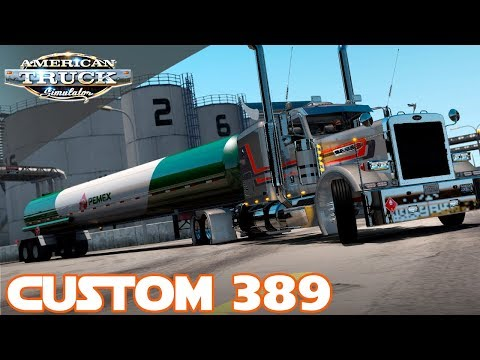 TANKER THURSDAY | VIPER's CUSTOM PETERBILT 389  | AMERICAN TRUCK SIMULATOR