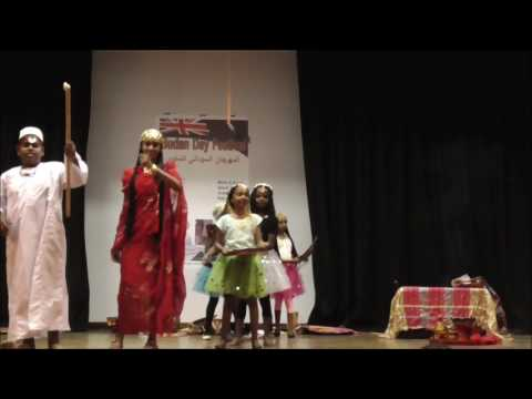 Sudanese Folklore Dance by Kids رقص تراثي سوداني