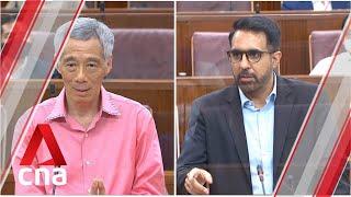 PM Lee Hsien Loong, Pritam Singh's exchange on 'free rider' voters