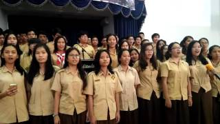 Nothing is Impossible - Perguruan Advent Jakarta Senior Class Choir 2016/2017