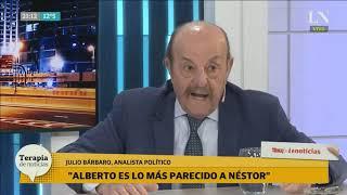 Julio Bárbaro explosivo: