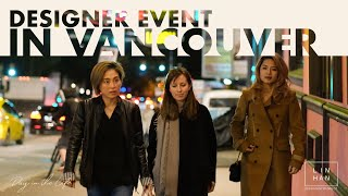 DAY IN THE LIFE OF AN INTERIOR DESIGNER: Designer Event in Vancouver | 復古潮旅的設計師聚會