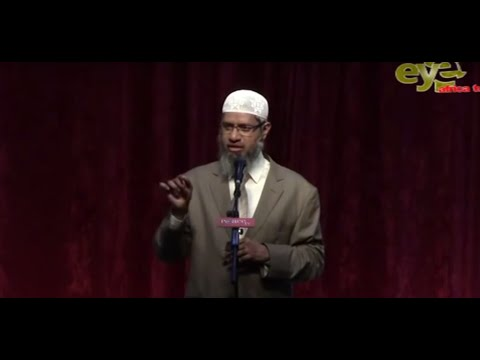 "Dr Zakir Naik Public Lecture in Gambia-West Africa ""Religion in the Right Perspective"""