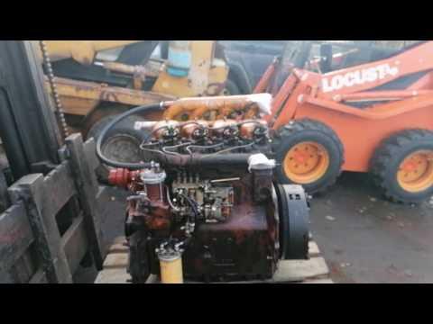 UN053 ремонт мотора Zetor.