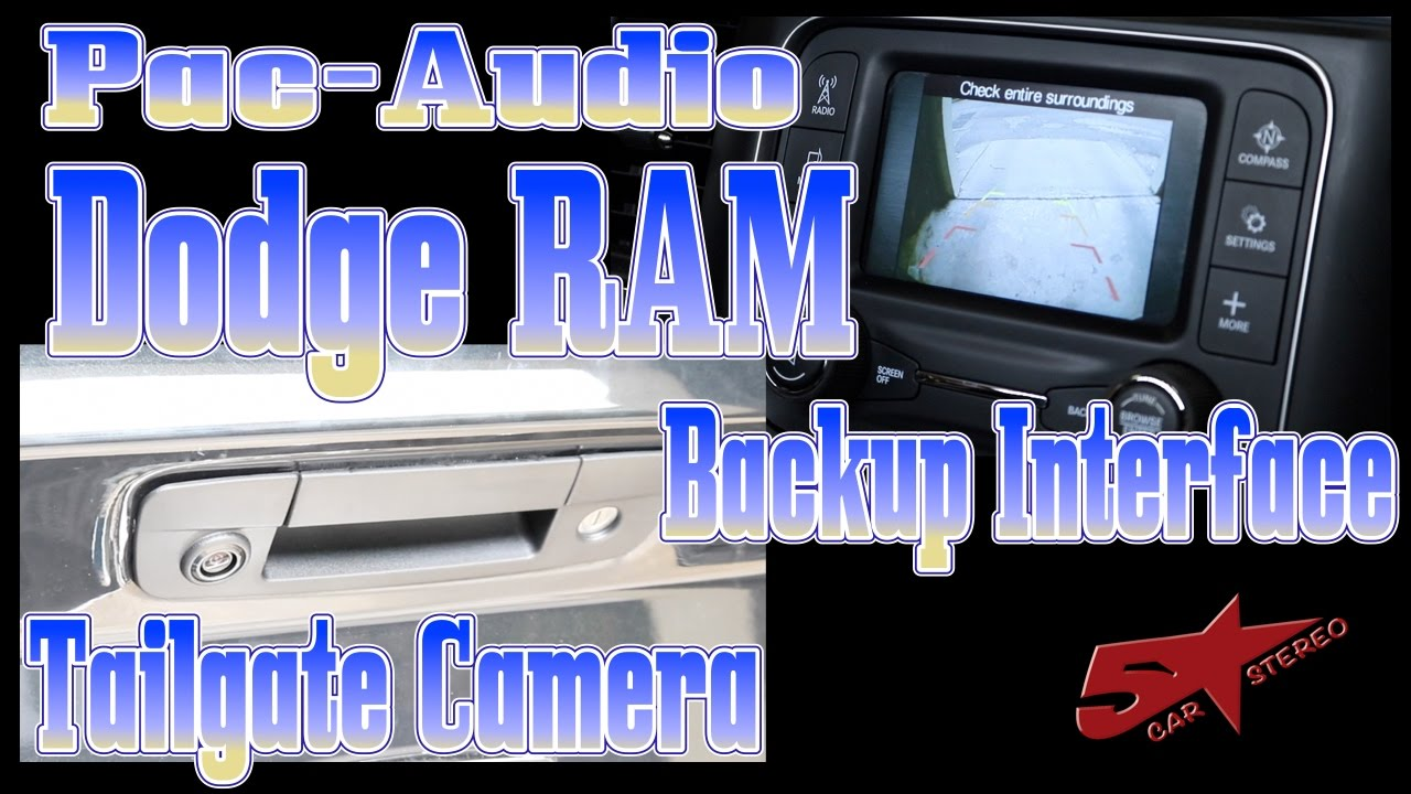 small resolution of does your dodge ram need a backup camera pac audio bci ch41 is what you need youtube