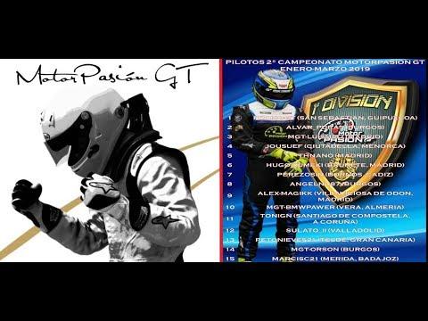 5ªFASE CAMP.MOTORPASIONGT-1ªDIV-LIVE-GRAN TURISMO SPORT-PS4-BOMBERTIN thumbnail