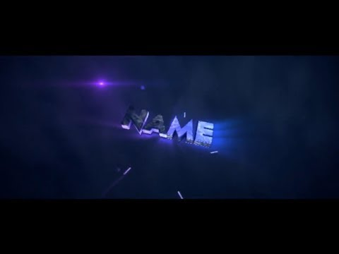 FREE Blue Intro Template #430 Cinema 4D & After Effects + FREE DOWNLOAD