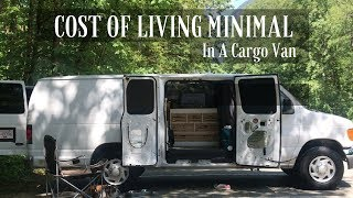 Cost Of Living Minimal In A Van