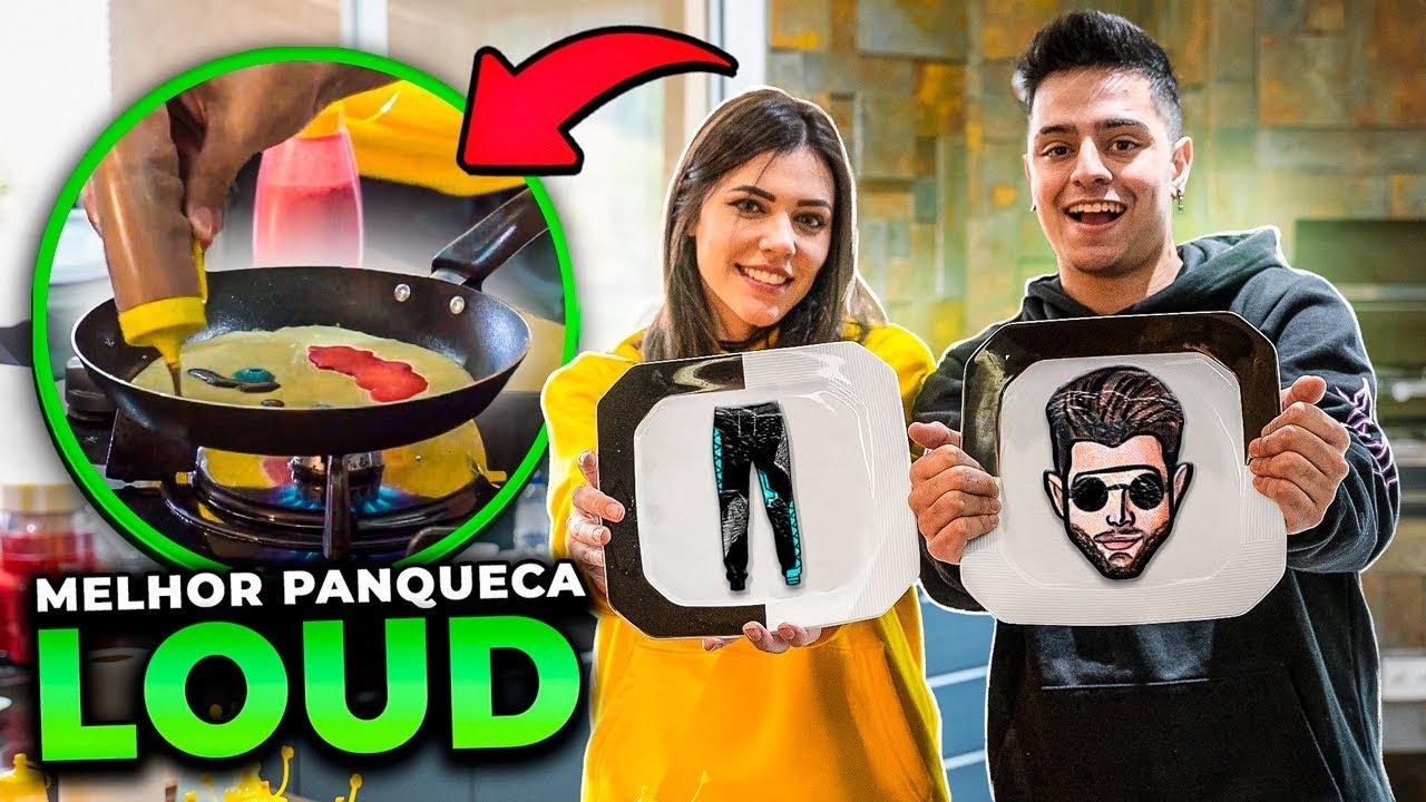 QUEM FIZER A MELHOR ARTE NA PANQUECA GANHA!! LOUD