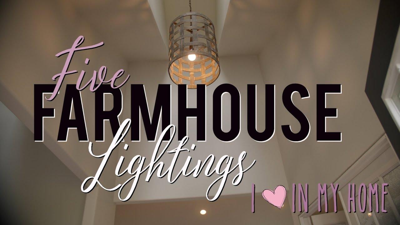 diy farmhouse home farmhouse lighting fixture ideas