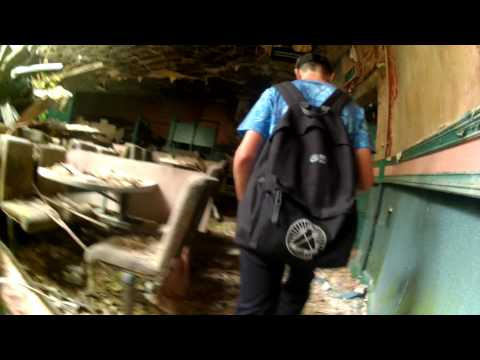 Exploring Derby Abandoned Theater Exploration