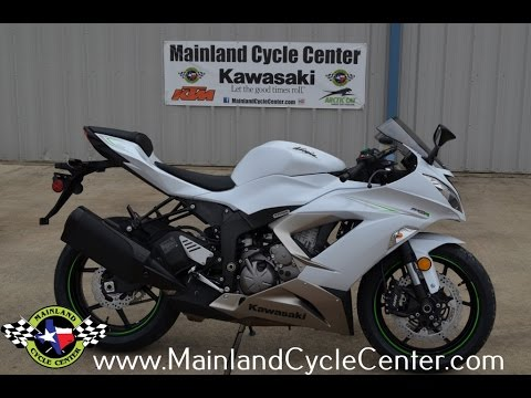 11 699 2017 Kawasaki Zx6r 636 Ninja Pearl Blizzard White Overview And Review You