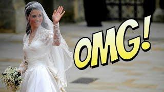La robe de mariée de Kate Middleton au cœur d'un scandale