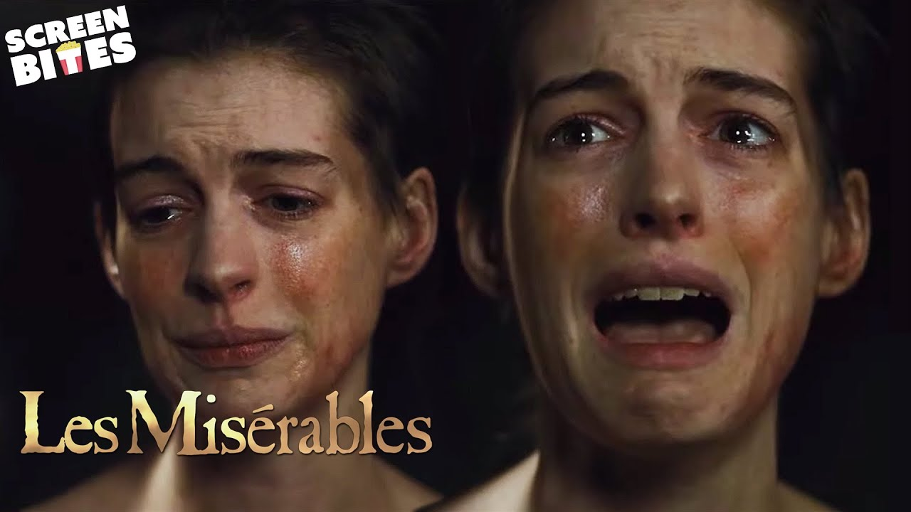 I Dreamed A Dream By Anne Hathaway Les Miserables Scenescreen Youtube