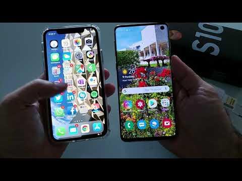 Galaxy S10: Abrindo A Caixa Do Novo Celular Da Samsung