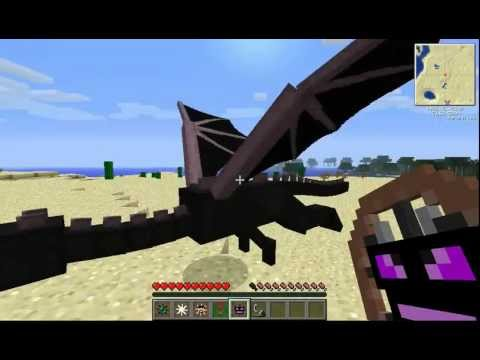 Thumbnail: AnimalBike Mod 1.5.2: fly an Ender Dragon, ride on Notch (Updated LINK) NOW WITH DINOS AND BUNNYS!!!