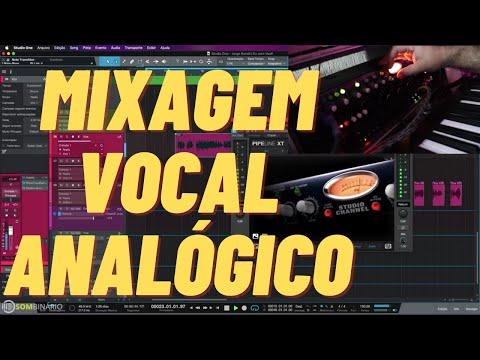 Mixagem Híbrida de Vocal com o Presonus Studio Channel