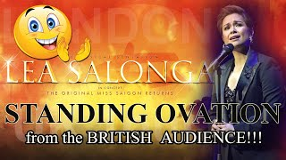 Lea Salonga: Standing Ovation from the British Audience! | The London Palladium | UK Tour 2019