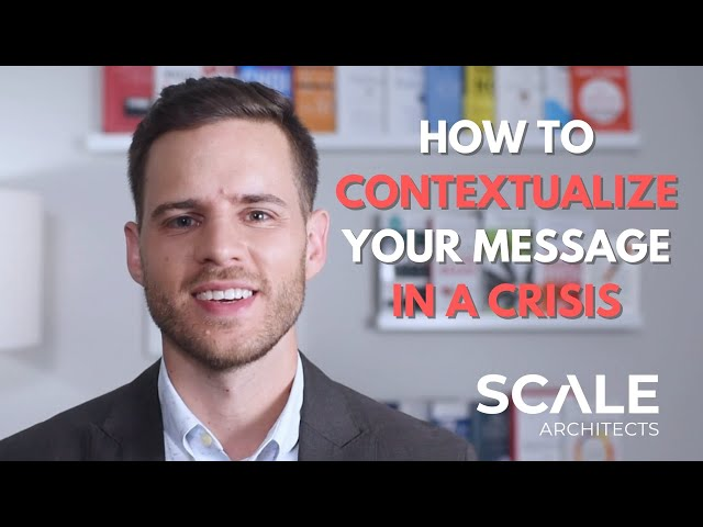 How to Contextualize Your Messaging in an Economic Crisis