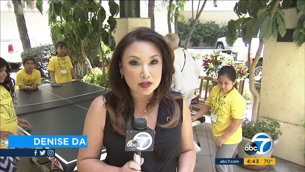 KABC 7 news feature Villa Gardens intergenerational summer camp