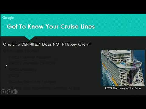 Travel Agent Training & Tips: CRUISES With Tammy Walker, CTA