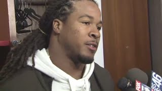 'We got to go back and correct': Devonta Freeman on Matt Ryan going down 9 times in game against Sai