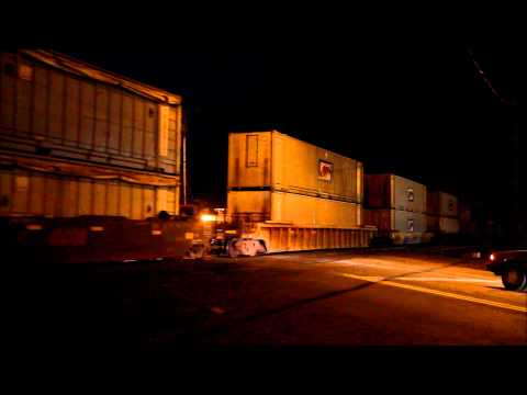 A Railfan Evening In Vancouver, Washington 11-9-11  8 Trains In 3 Hours