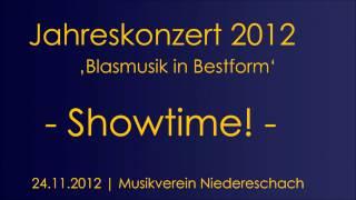 Jahreskonzert 2012 Showtime! Komponist: Sven van Calster http://www...