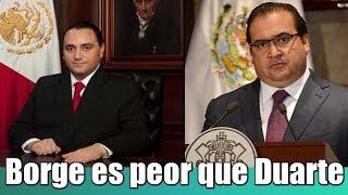 Duarte se robó el dinero del estado, Borge se robó el estado:IMCO