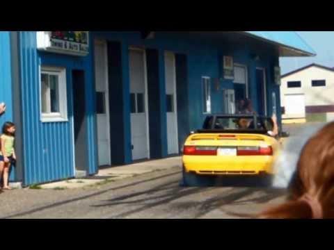 waverly, mn car show burnouts 2013