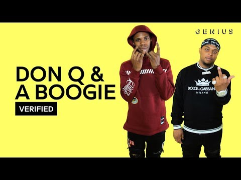 """Don Q & A Boogie Wit Da Hoodie """"Yeah Yeah"""" Official Lyrics & Meaning 