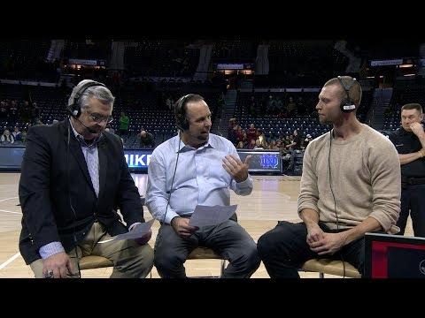 @NDmbb: Post-Game Radio Show vs Florida State (2018)