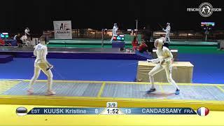 Novi Sad European Championships 2018 Day06 T04 WE EST vs FRA
