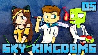SKY KINGDOMS #05 : DE LA CHANCE DANS LE NETHER ?!