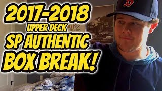2017-2018 Upper Deck SP Authentic Hockey Box Break!   Auddie James