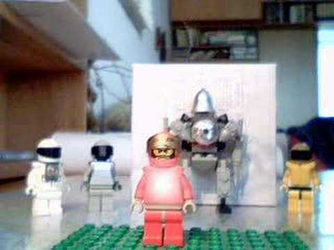 lego Iron man: short flying - It is a short flying by Iron man