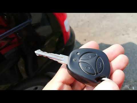 Открывание багажника с кнопки Лада Калина