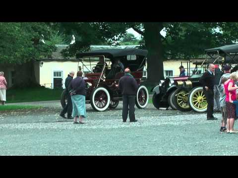 Steam Cars at Raby Castle