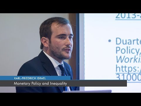 Monetary Policy and Inequality | Karl-Friedrich Israel
