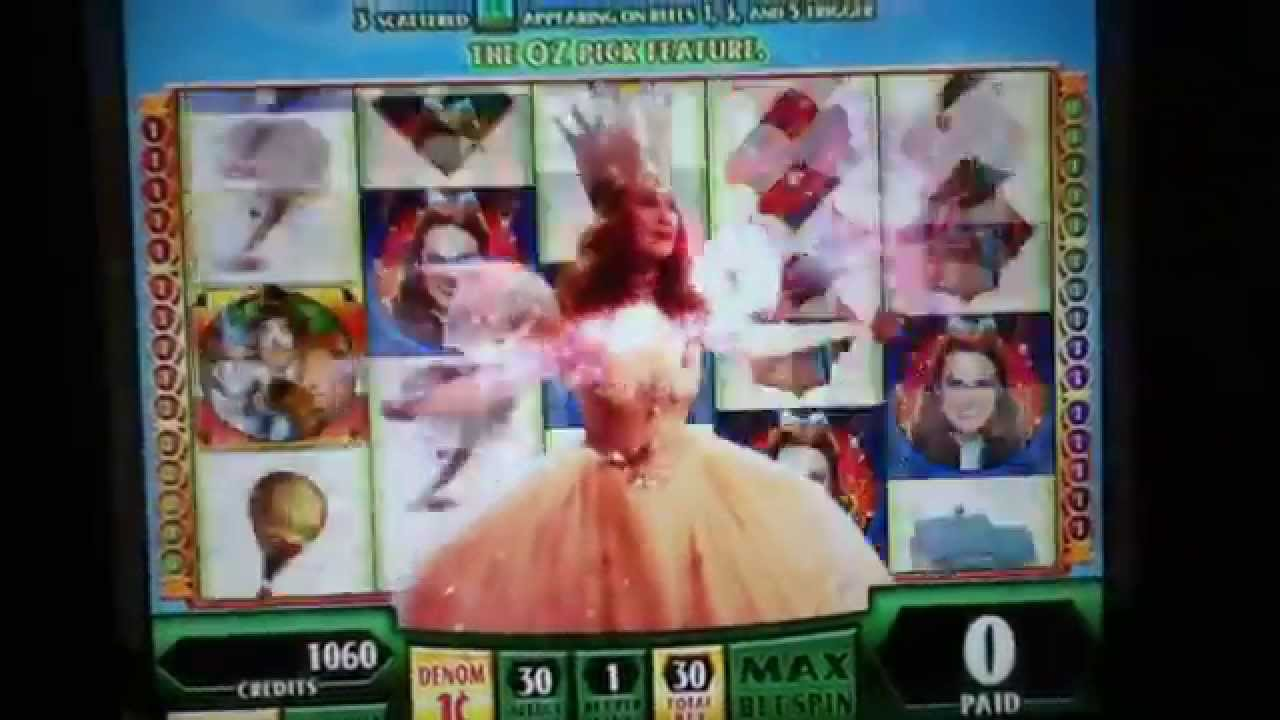 Wizard of oz casino game youtube