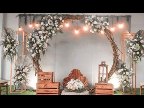 18+ minimalis model dekorasi pernikahan terbaru 2020